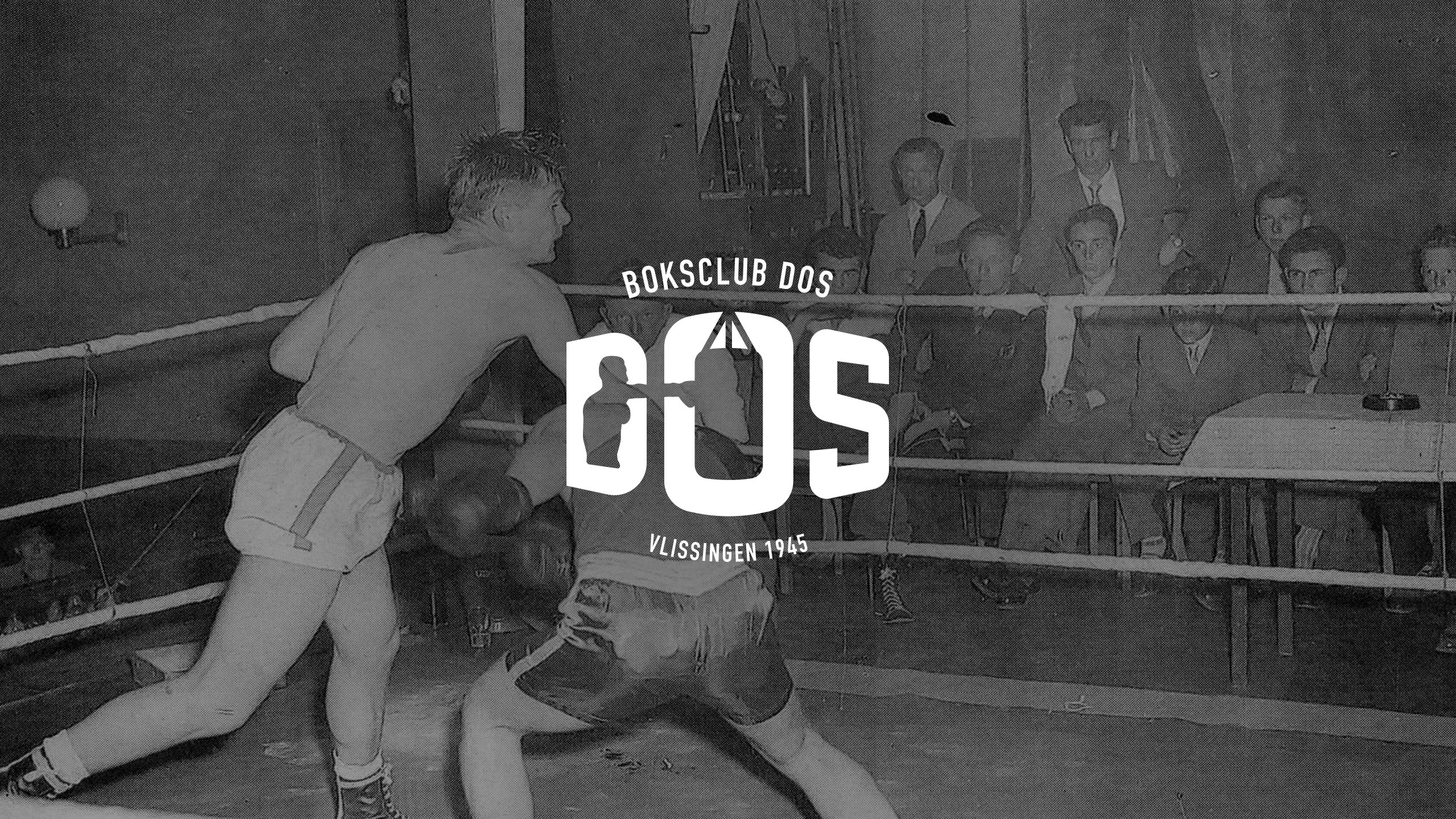 Boksclub DOS logo historie