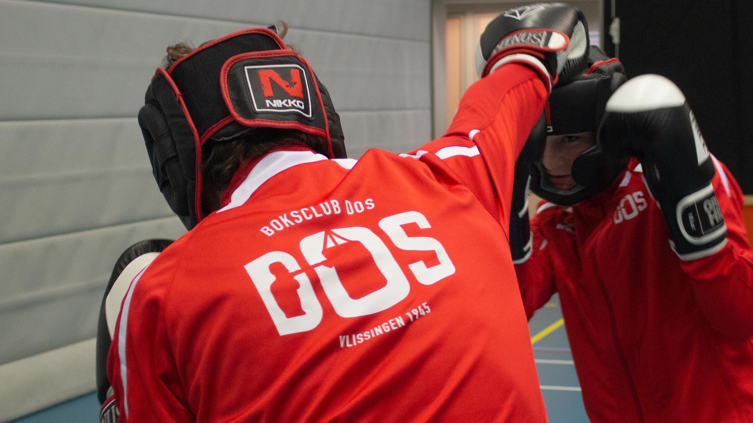 Boksclub DOS logo trainingspak