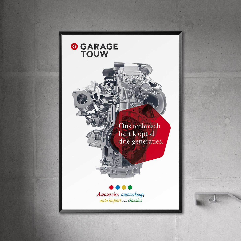 Garage Touw drie generaties poster