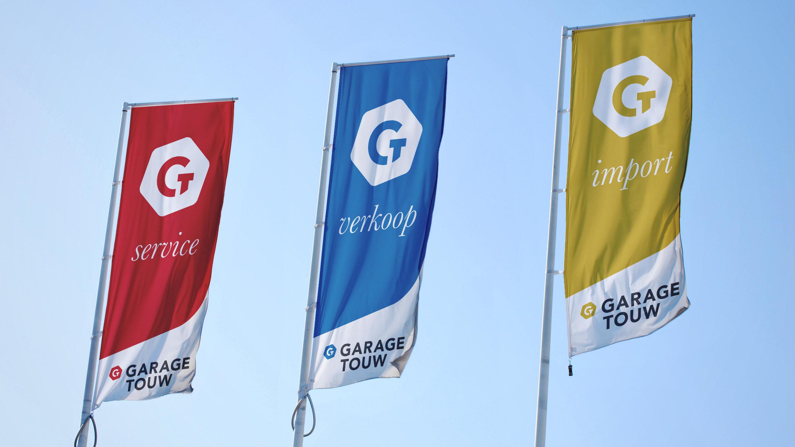 Garage Touw vlaggen