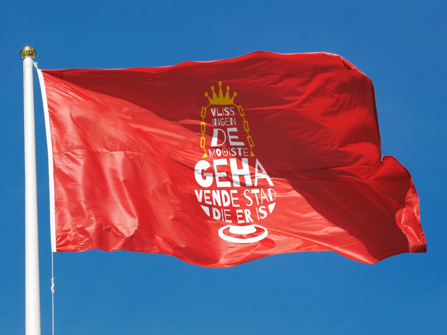 Gehavende Stad vlag