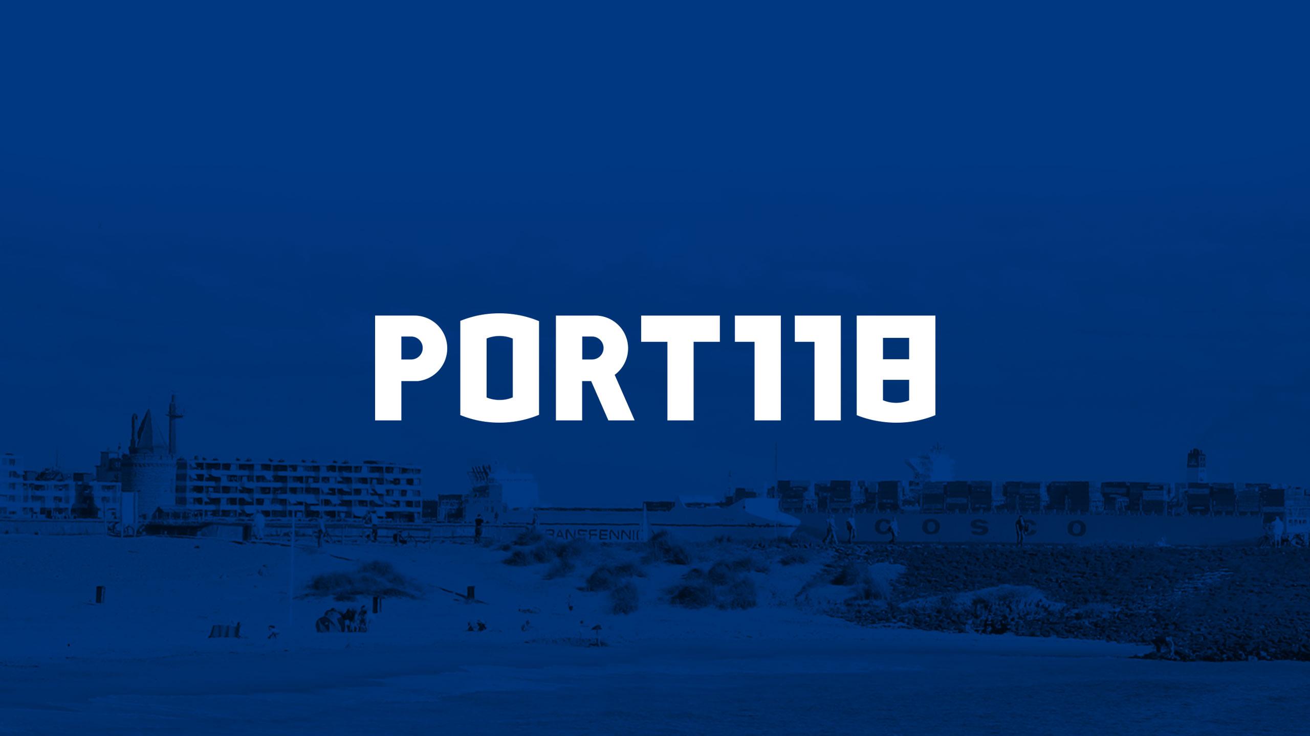 PORT118 free font