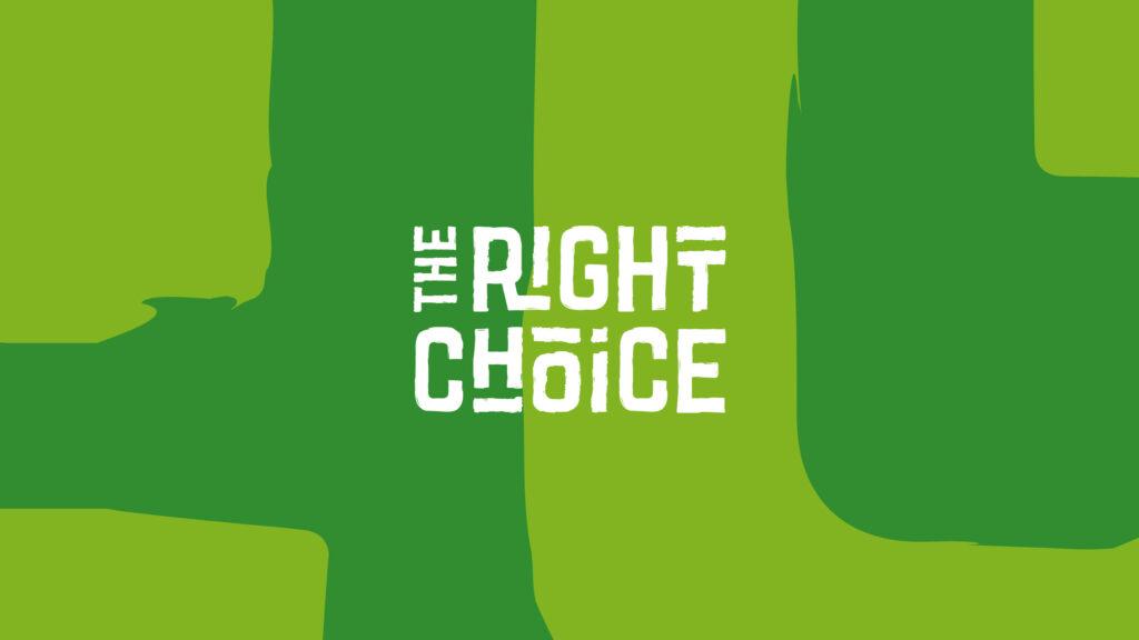 The Right Choice logo